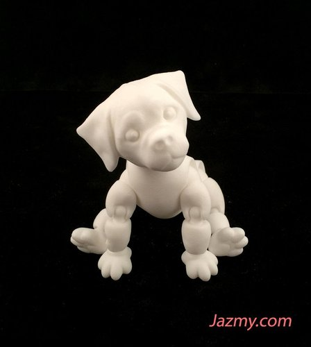 3d Jointed Puppy Dog 3D Print 40440