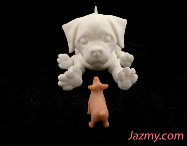 3d Jointed Puppy Dog 3D Print 40441