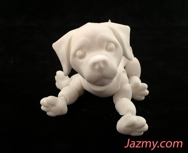 3d Jointed Puppy Dog 3D Print 40446