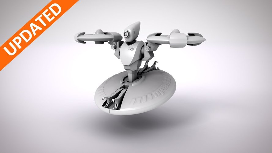 Makertron Design Contest : Maintenance Drone 3D Print 40459
