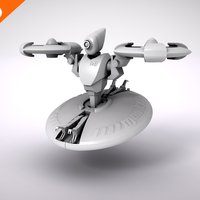 Small Makertron Design Contest : Maintenance Drone 3D Printing 40459