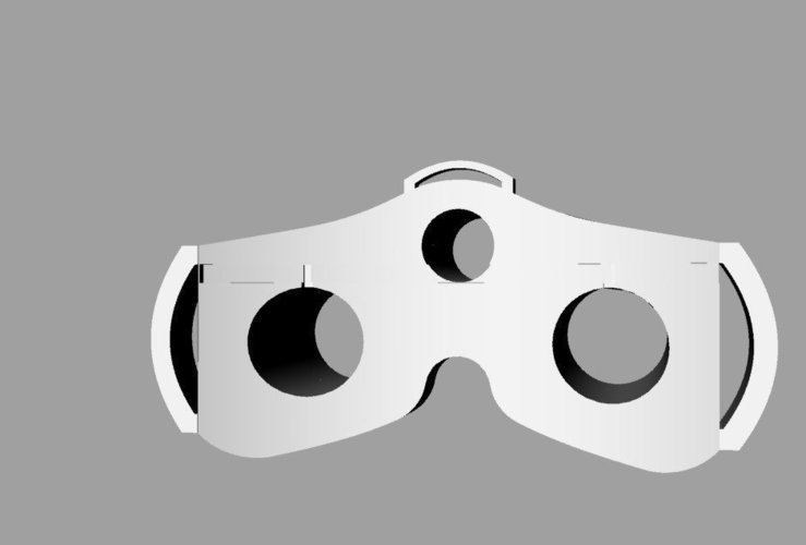 Splinter Cell sonar  goggles  3D Print 40486