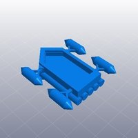 Small hamboat 3D Printing 40489