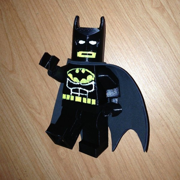 Medium Giant Lego Batman 3D Printing 40499