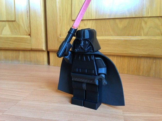 Giant Lego Darth Vader 3D Print 40503