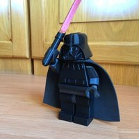 Small Giant Lego Darth Vader 3D Printing 40503