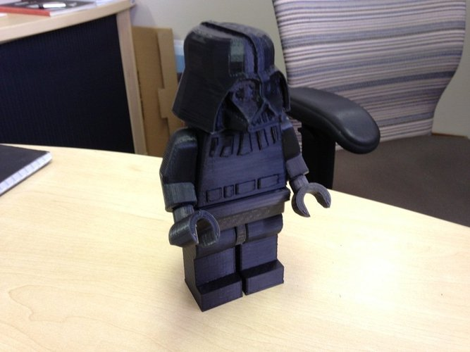 Giant Lego Darth Vader 3D Print 40504