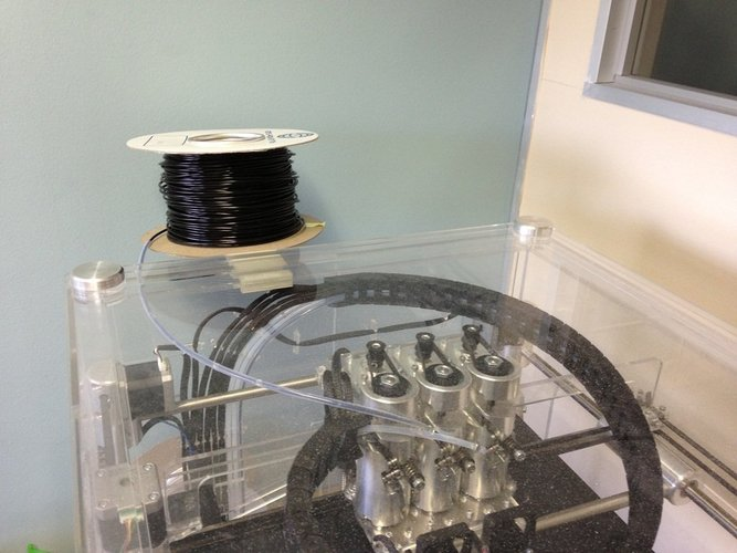 Top Spool Holder for BFB Touch 3D Print 40507