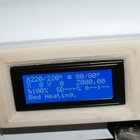 Small Housing and cover for a Ramps 1.4 smart controller LCD with SD c 3D Printing 40599