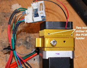 UP Mini parts for entire extruder replacement with an extruder f