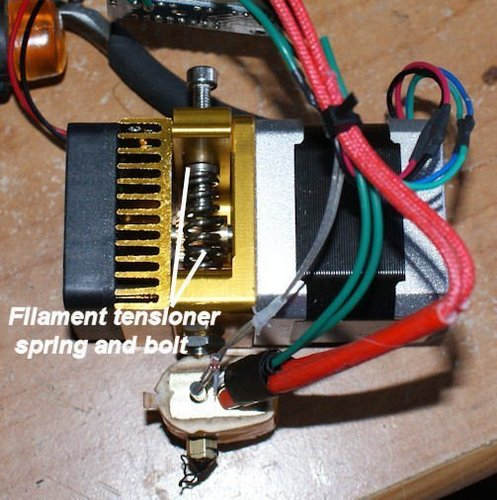 UP Mini parts for entire extruder replacement with an extruder f 3D Print 40612