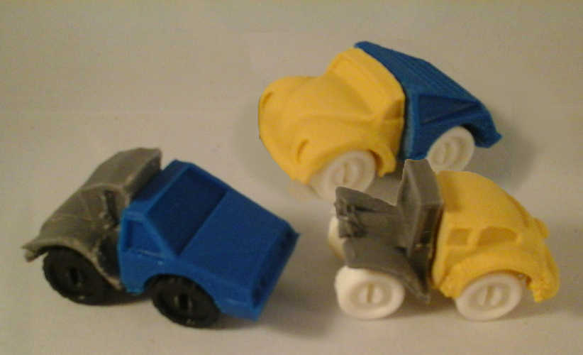 ModWheels Modular Toy Car Set 1 3D Print 4076