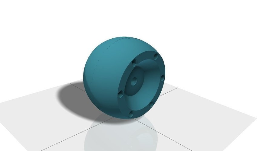Replacement wheel for Bosch Indego lawn mover 3D Print 40836