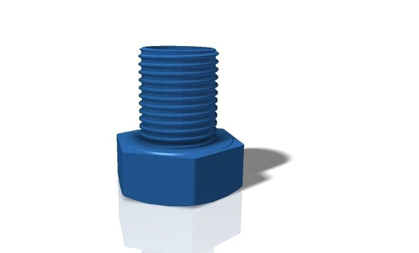 Pen Holder (Hexagon head screw M56x65) 3D Print 40869