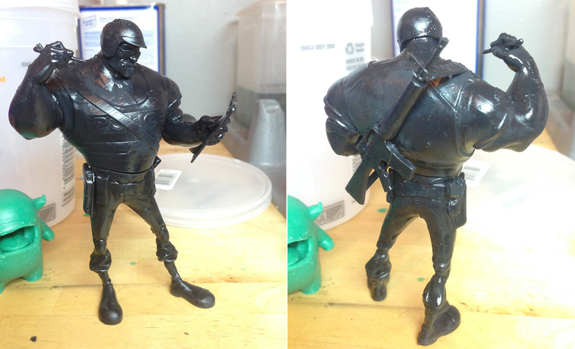 The Ticketeer Figurine 3D Print 4089