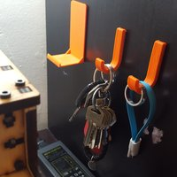 Small Wallet Wall Mount 3D Printing 40895