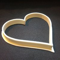 Small Heart Cookie Cutter 3D Printing 40953