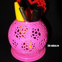 Small Holder Pink glam 3D Printing 40955