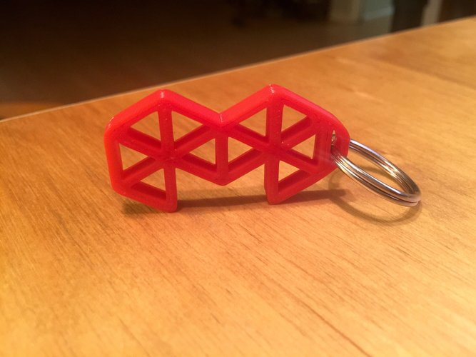 3D Printed Mold3D Keychain by Mold3D   Pinshape
