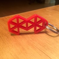 Small Mold3D Keychain 3D Printing 40994