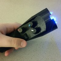 Small 3D Printed LED Flashlight 3D Printing 41001