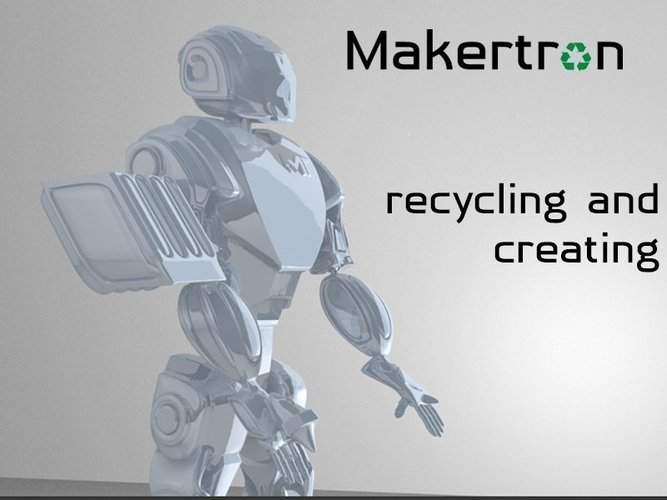 MAKERTRON.R3 he is really a maker. A 3d maker!  3D Print 41035