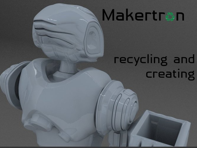 MAKERTRON.R3 he is really a maker. A 3d maker!  3D Print 41037
