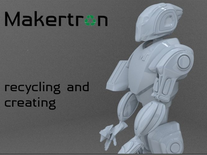 MAKERTRON.R3 he is really a maker. A 3d maker!  3D Print 41038