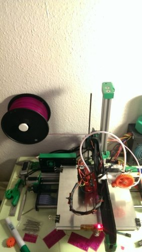 Spool Holder Wall Mount 3D Print 41058