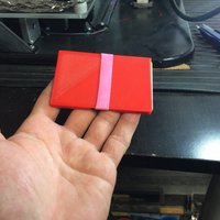 Small Extra thin wallet 3D Printing 41238