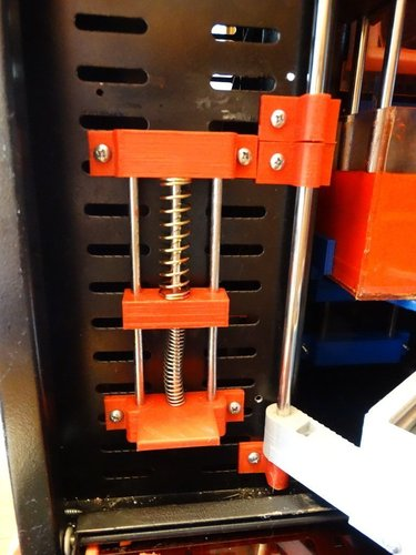 Cleaning Station System for Uncia Printer 3D Print 41315