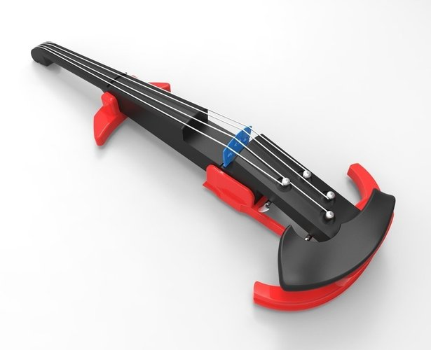 Easy printing Electric Violin. 3D Print 41368