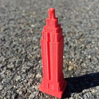 Small Empire State Building 3D Printing 41421