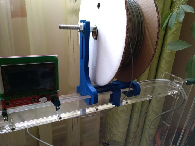 spool support for mega prusa 3D Print 41443