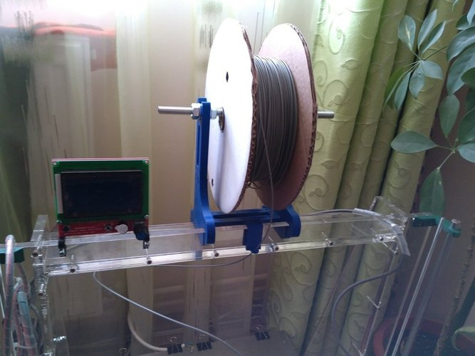 spool support for mega prusa 3D Print 41444