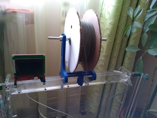 spool support for mega prusa 3D Print 41445