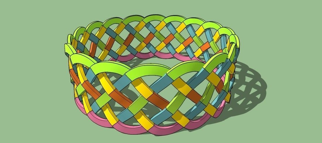 Celtic wristband 3D Print 41494