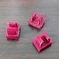Small keyboard cable clamp 3D Printing 41602