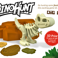 Small Dino-Hunt 3D Printing 4175