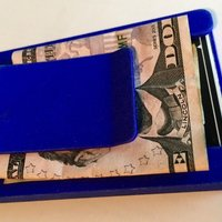 Small Wallet with money clip 3D Printing 41769
