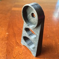 Small Spool Rod Stand 3D Printing 41787