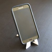 Small Smart Phone / Mini iPad Stand  3D Printing 41811