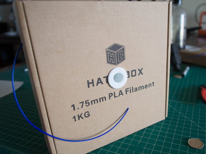 Hatchbox Box-Mount Spool Holder 3D Print 41853