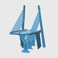Small Bridge.test 3D Printing 41973