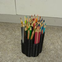 Small pencil holder  3D Printing 41997