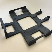 Small Mac mini 2014 wall mount 3D Printing 42234