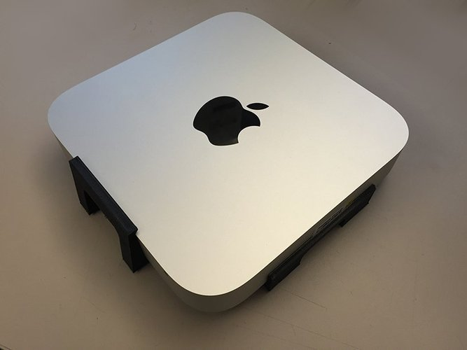 Mac mini 2014 wall mount 3D Print 42235