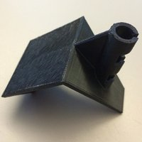 Small Flag holder for your cube. 3D Printing 42242