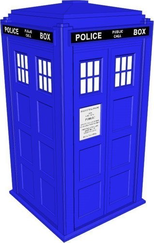 TARDIS with Lights and Sound 3D Print 42246