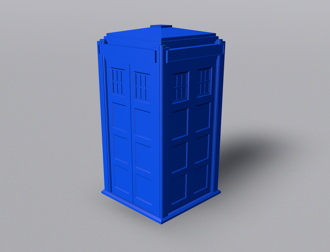 TARDIS with Lights and Sound 3D Print 42252